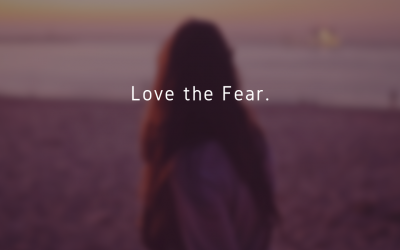 Love the fear…