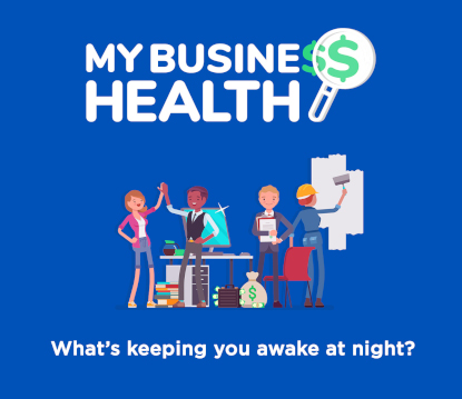 my business health logo