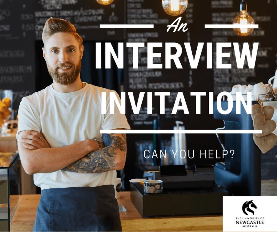 small business operator interview invitation