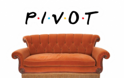 """PIVOT!"" It's time to hand this word back to Ross from Friends."